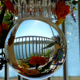 Through the Looking Glass by Elfie Back - Artistic Objects Glass (  )