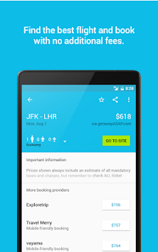 Skyscanner APK screenshot thumbnail 13