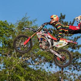 Jumping Motorcross by Carl Albro - Sports & Fitness Motorsports ( jumping, motorcross, motorcycle )