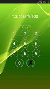 Lock screen password APK for Bluestacks