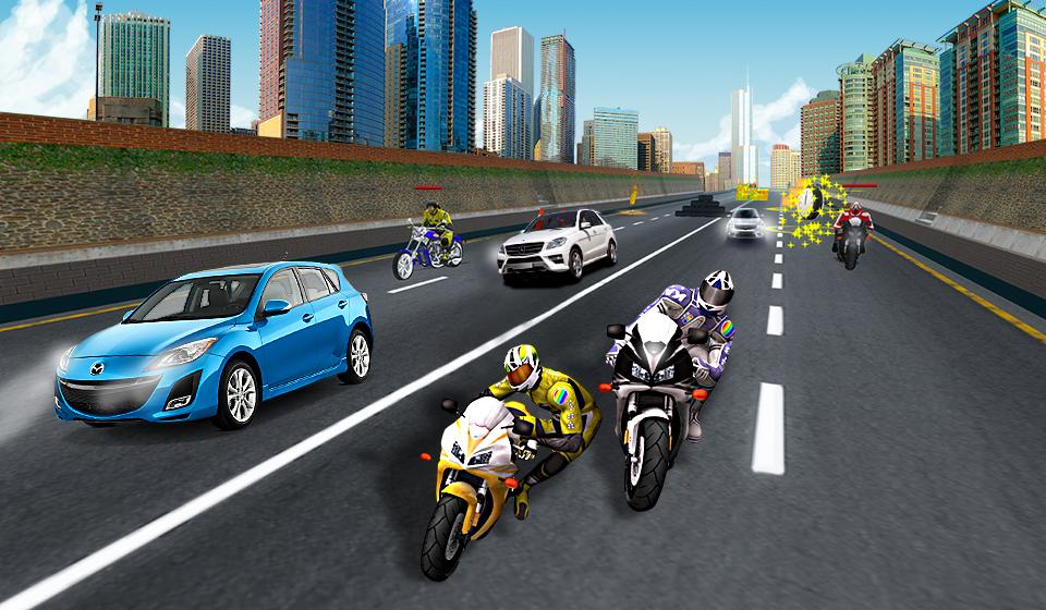 Bike Attack Race : Stunt Rider Screenshot 0