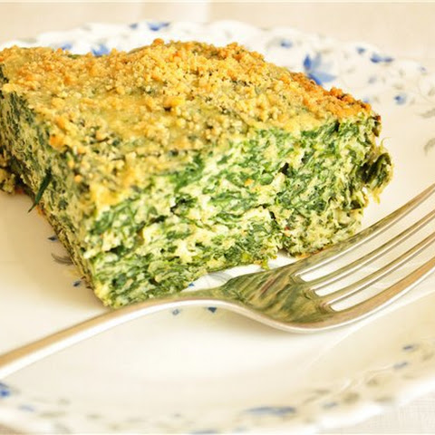 Casserole With Ricotta And Spinach