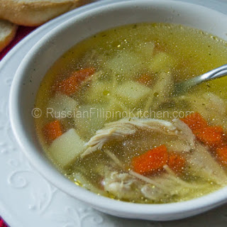 Light Chicken Soup