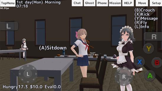 Game School Girls Simulator APK for Kindle