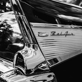 Chevrolet Bel Air 1957 by Lars-Ove Törnebohm - Transportation Automobiles ( 1957, chevrolet, cars, tornephoto, katrineholm, chevy, classic )