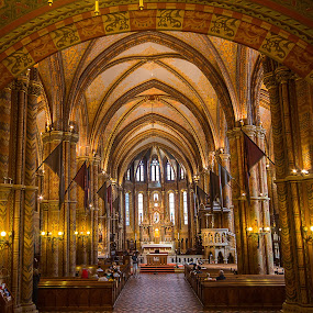 Matthias Church, Budapest. by Simon Page - Buildings & Architecture Places of Worship