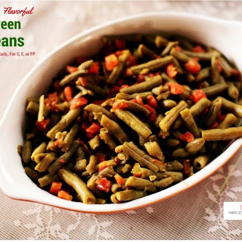 Simple Green Beans Low fat, Low carb