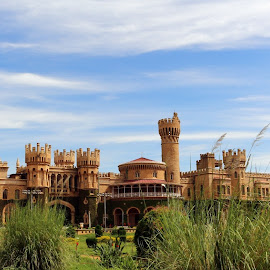 Bangalore Palace by Venkat Raj - Buildings & Architecture Statues & Monuments ( bangalore, monuments, architectural wonder, bangalore palace, royal, monument, architecture, palace, heritage,  )