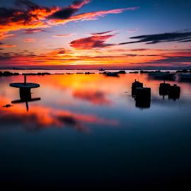 End of Day by Rizvan Talha Kaynak - Landscapes Sunsets & Sunrises ( waterscape, sunset, haida, long exposure, seascape, nikon, landscape )