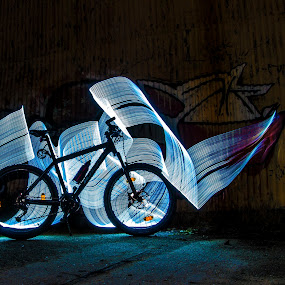 by John Iosifidis - Abstract Light Painting