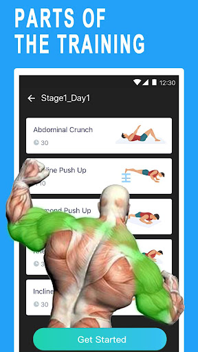Arm&Chest Blast screenshot 2