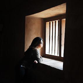 Wondering by Jenni Ertanto - People Portraits of Women