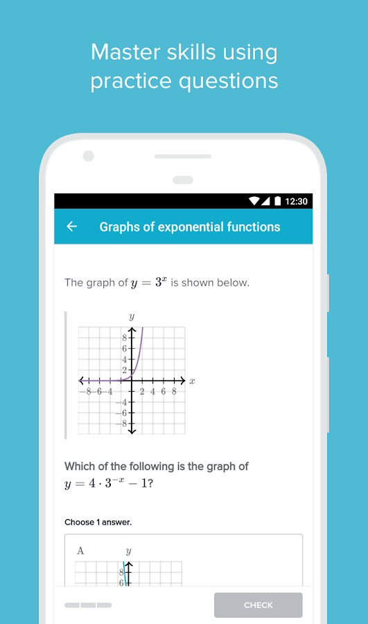 Khan Academy Screenshot 1
