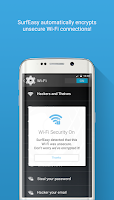Screenshot of SurfEasy: Free VPN for Android