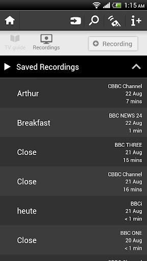 Philips MyRemote screenshot 4