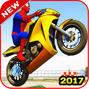 Download Spider Motobike Race For PC Windows and Mac