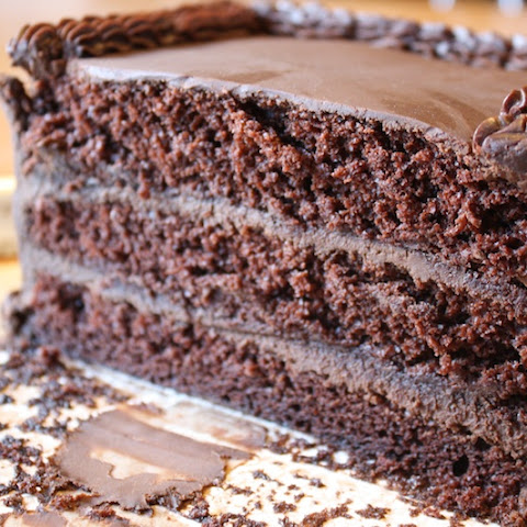 CHOCOLATE LARD BOURBON CAKE