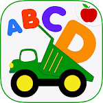 Kids ABCs Vehicles Flash Cards 3 Apk