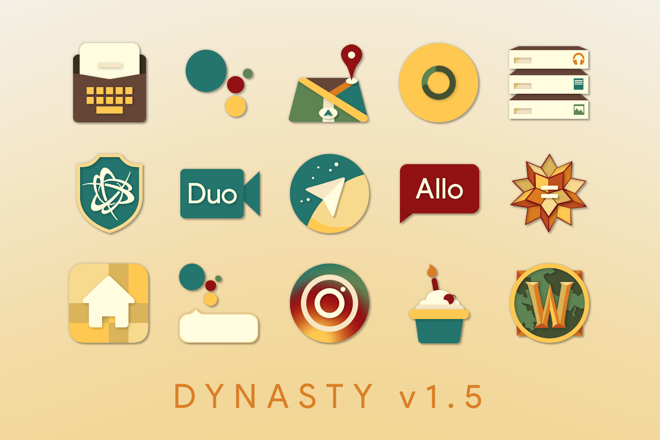 Dynasty Icon Pack Screenshot 1