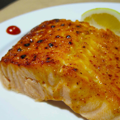 Maple and Mustard-Glazed Salmon
