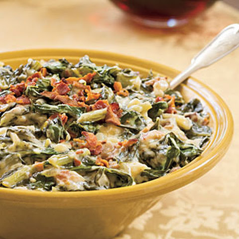 Creamed Collard Greens With Bacon Recipes | Yummly