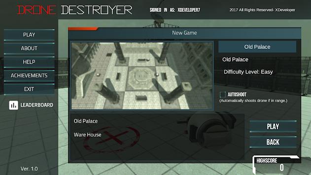 Drone Destroyer FPS apk screenshot