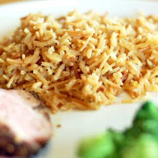 Homemade Rice-a-Roni or Rice Pilaf