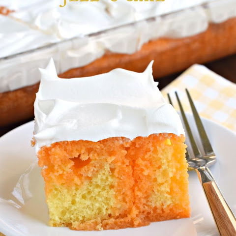 Lemon Orange JELL-O Cake