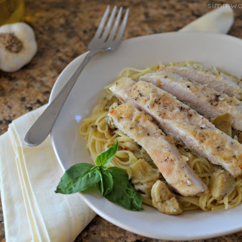 Chicken With Artichokes And Angel Hair Recipes   Yummly