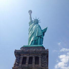 Statue of Liberty by Amanda Olejniczak - Buildings & Architecture Statues & Monuments ( statue of liberty, statue, new york,  )