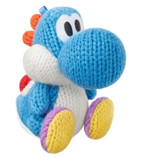 Light Blue Yarn Yoshi - Yoshi's Woolly World series