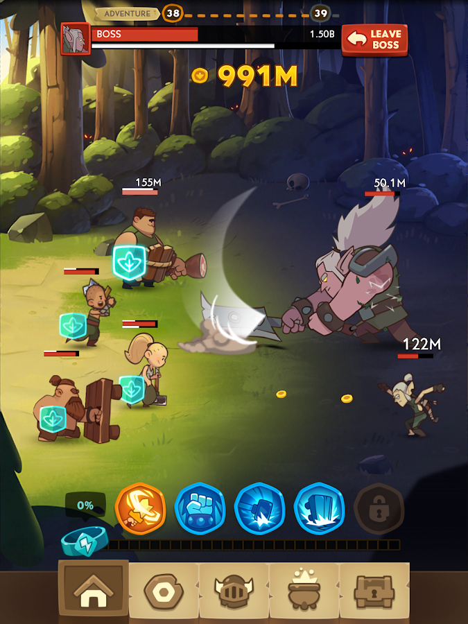 Almost a Hero - RPG Clicker Game with Upgrades Screenshot 12