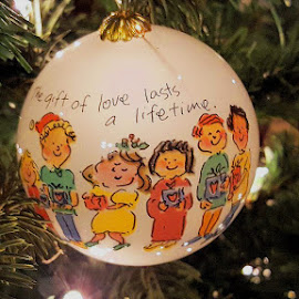 Christmas ornament by Ann Prince - Artistic Objects Other Objects ( ornament, christmas, round )