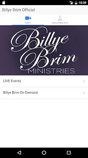 Billye Brim Official - screenshot