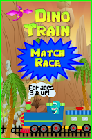 Screenshot of Dino Train Kids Game