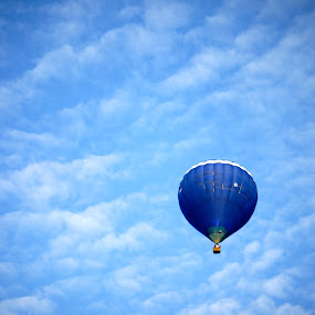 Against the wild blue yonder by Rozi Rahman - Transportation Other ( hot air balloons )