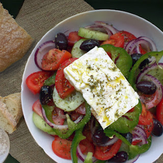 Horiatiki aka Greek Salad
