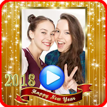 New Year Video Maker 2018 Icon