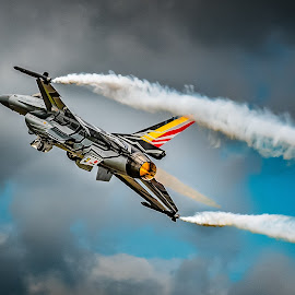 Wild Thang by Anthony P Morris - Transportation Airplanes ( wild, wildthing, flying, plane, anthony morris, royal international air tattoo., fly, wildthang, anthonypmorris, oxford, farmoor, fast, jet )