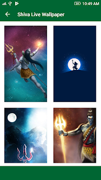 Lord Shiva HD Live Wallpaper 2017 : Mahakal Status APK screenshot thumbnail 6