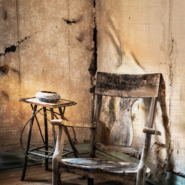 by Mark Franks - Artistic Objects Furniture ( chair, interior, texture, ghost town )