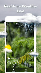 Weather Forecast - Live Weather & Radar & Clock for pc