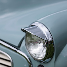 Chrome Light by Chris Haswell - Transportation Automobiles ( car, england, uk, chrome, light, lake district )