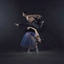In harmony by Dikye Darling - People Musicians & Entertainers ( dancing, dancers, movement, harmony, ballet, couples )