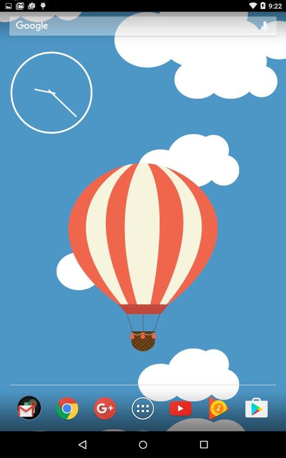 Relax Ballon Live Wallpaper Screenshot 0