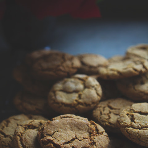 Soft Molasses Cookies, Gluten-free