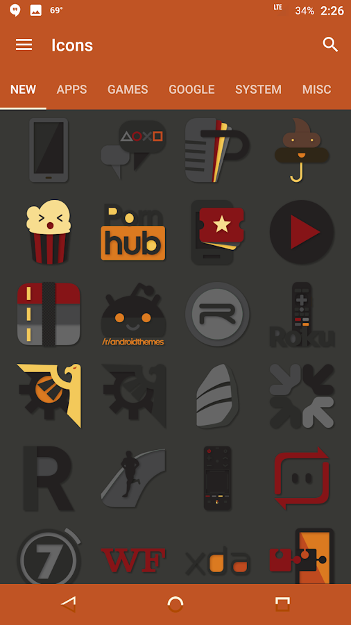 Desaturate Icon Pack Screenshot 13