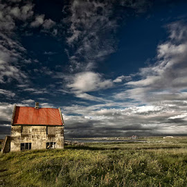 Abandoned Memories  by Þorsteinn H. Ingibergsson - Buildings & Architecture Decaying & Abandoned ( farm, clouds, iceland, sky, nature, structor, landscape, decay, abandoned )