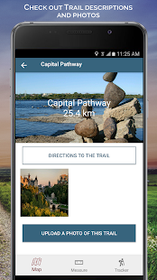 The Great Trail-Explore Canada Fitness app screenshot 1 for Android