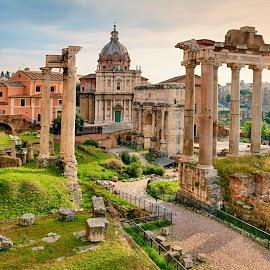 Roma by Irena Brozova - City,  Street & Park  Historic Districts ( roma, antica )